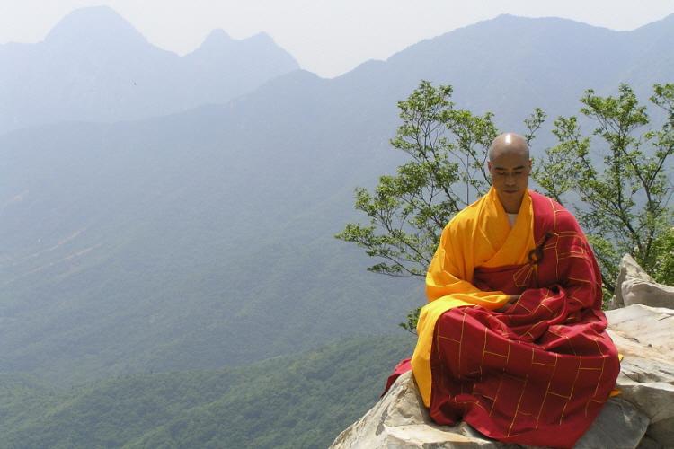 Resultado de imagen de monje budista